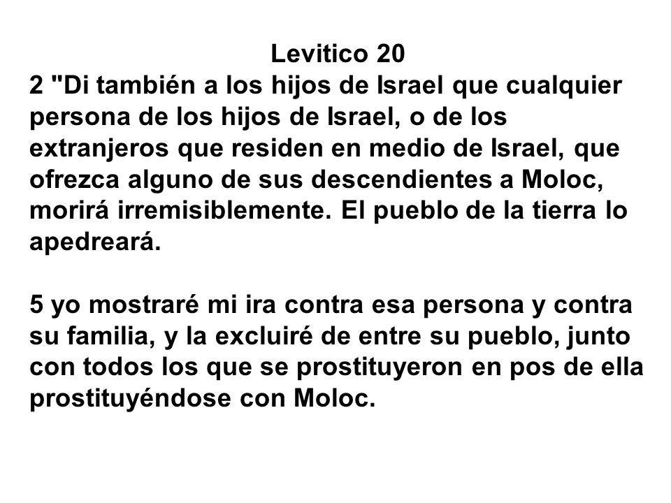 Levitico 20