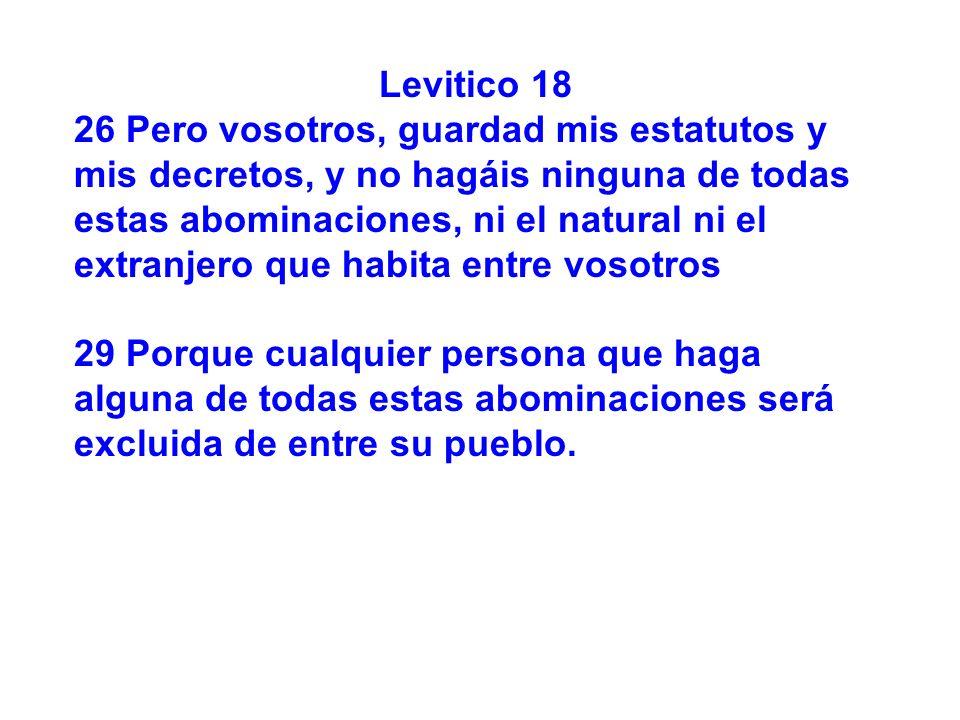 Levitico 18