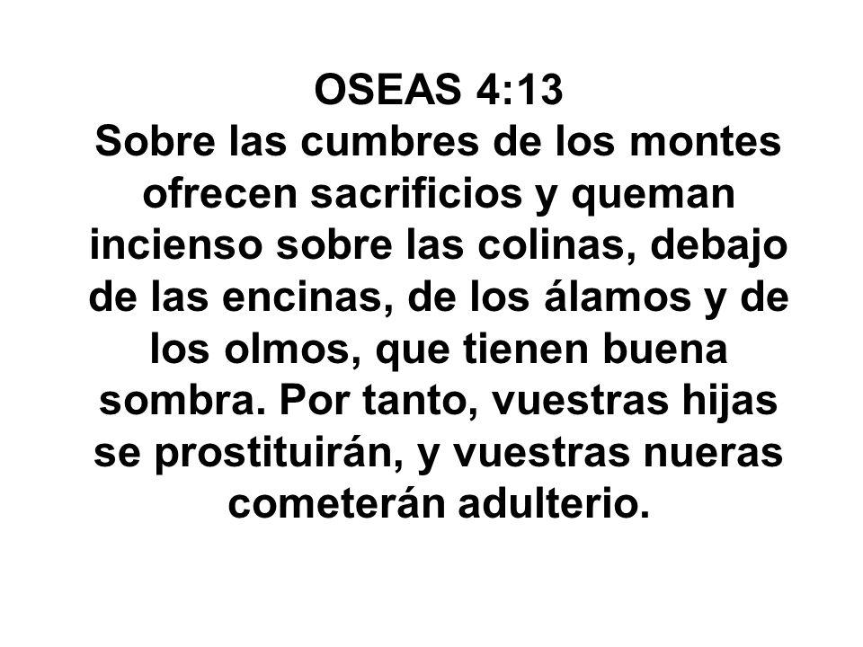 OSEAS 4:13