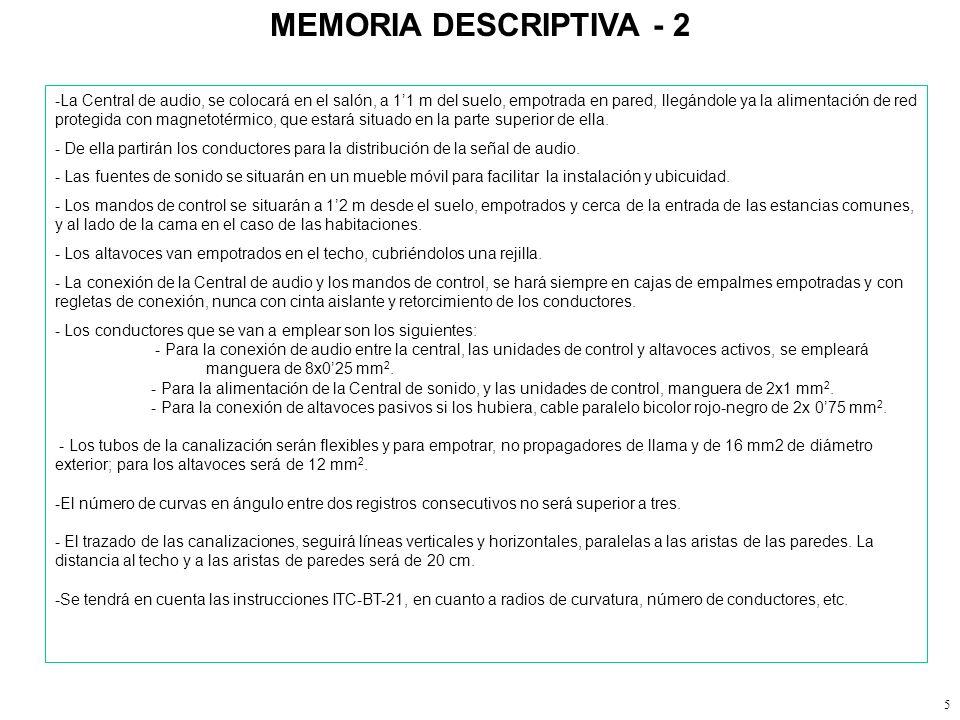 MEMORIA DESCRIPTIVA - 2