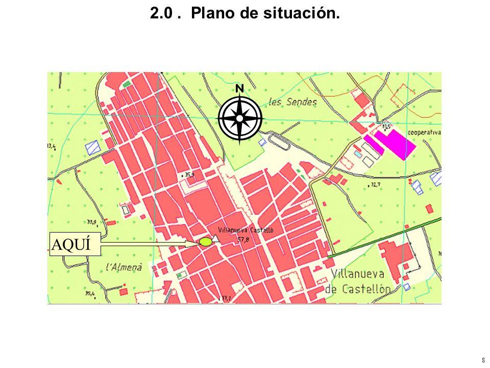 2.0 . Plano de situación. AQUÍ