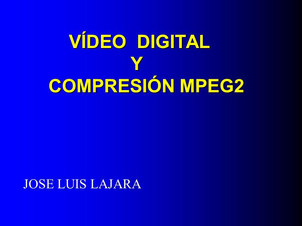 VÍDEO DIGITAL Y COMPRESIÓN MPEG2
