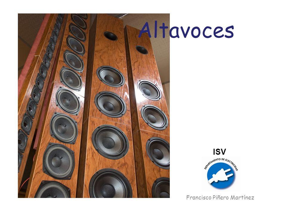 Altavoces ISV Francisco Piñero Martínez