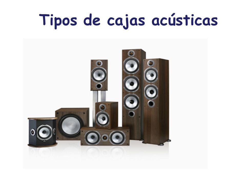 Tipos de cajas acústicas
