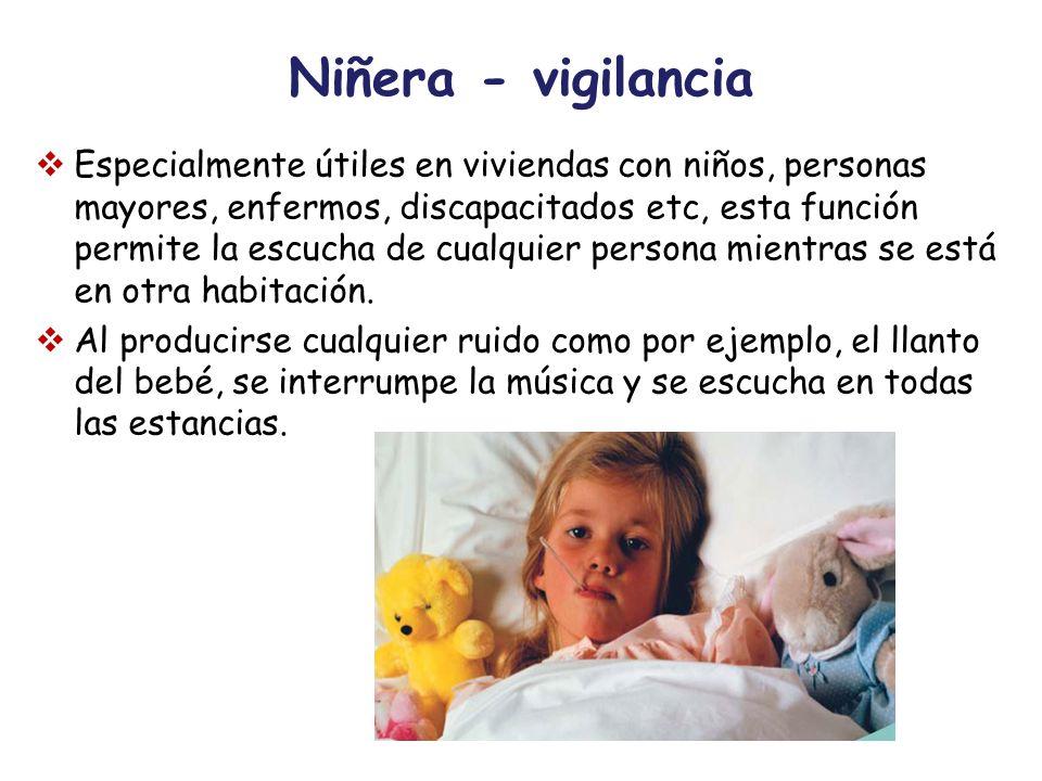 Niñera - vigilancia