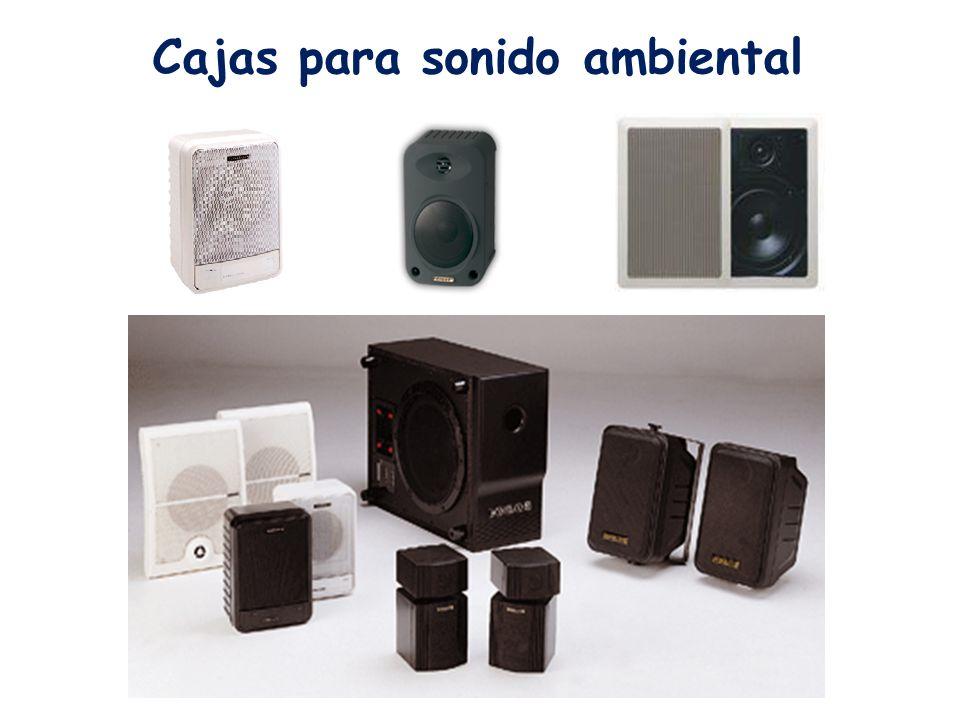 Cajas para sonido ambiental