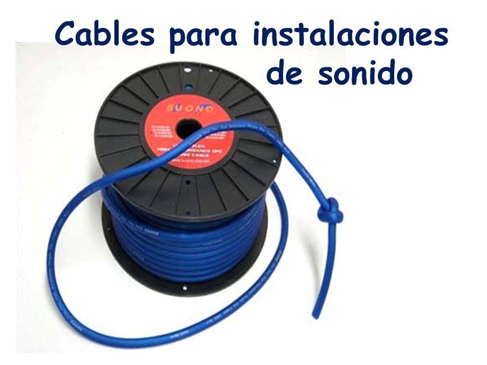 Cables para instalaciones