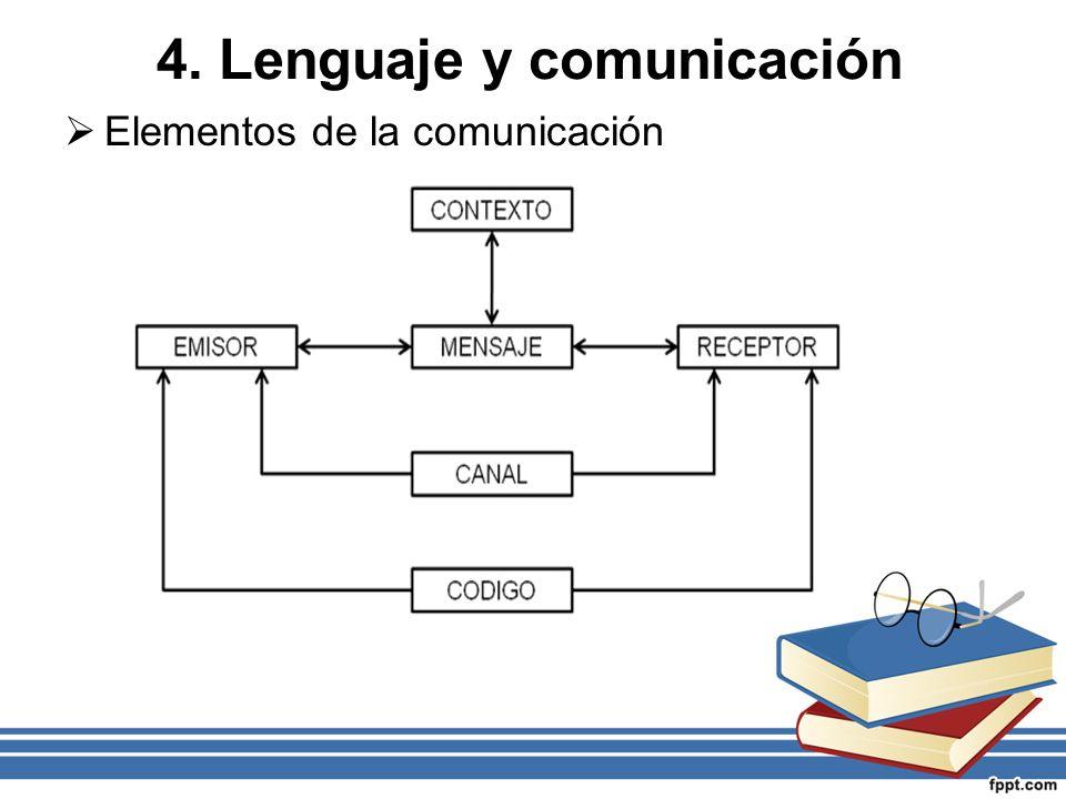4. Lenguaje y comunicación