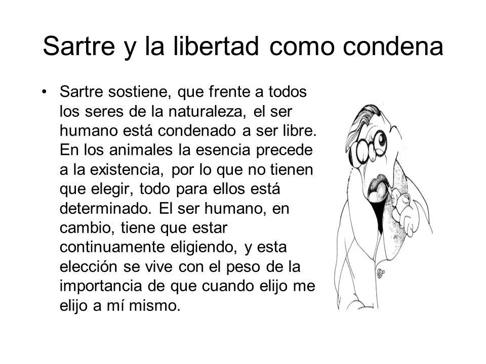 Sartre y la libertad como condena
