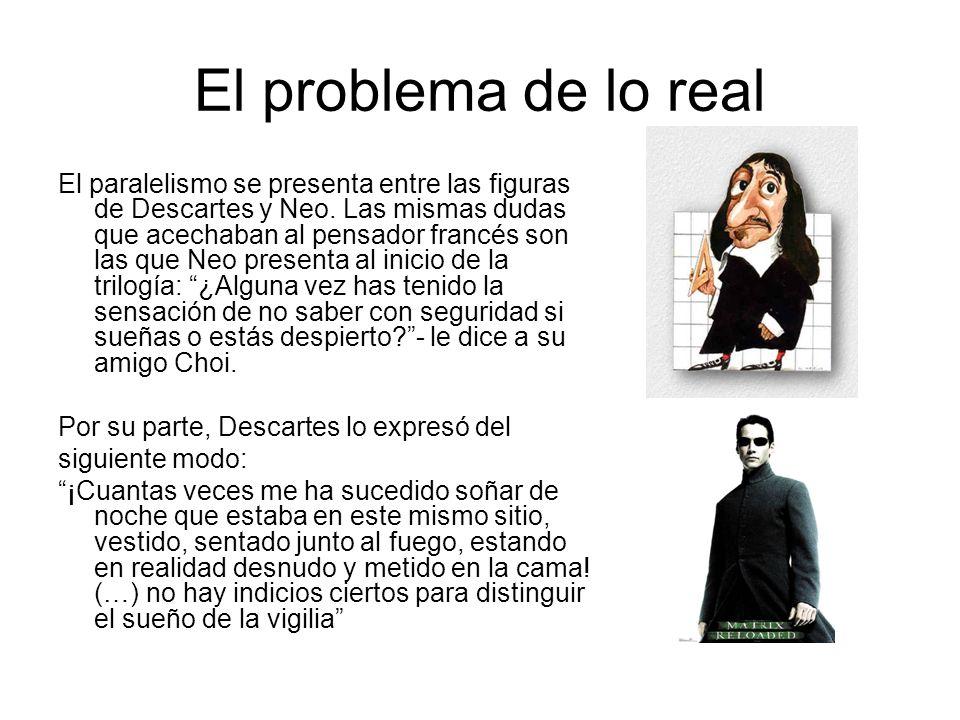 El problema de lo real