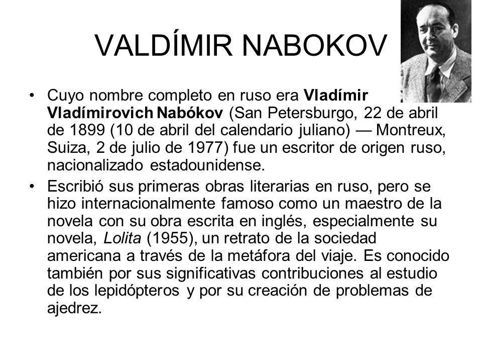 VALDÍMIR NABOKOV