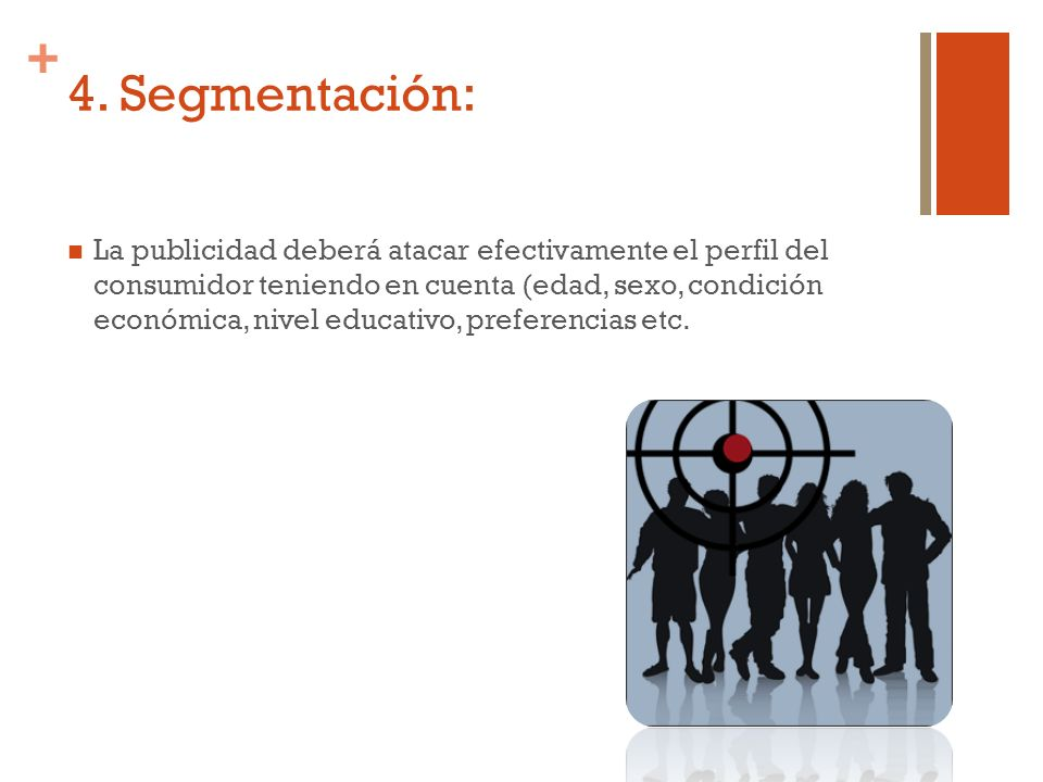 4. Segmentación: