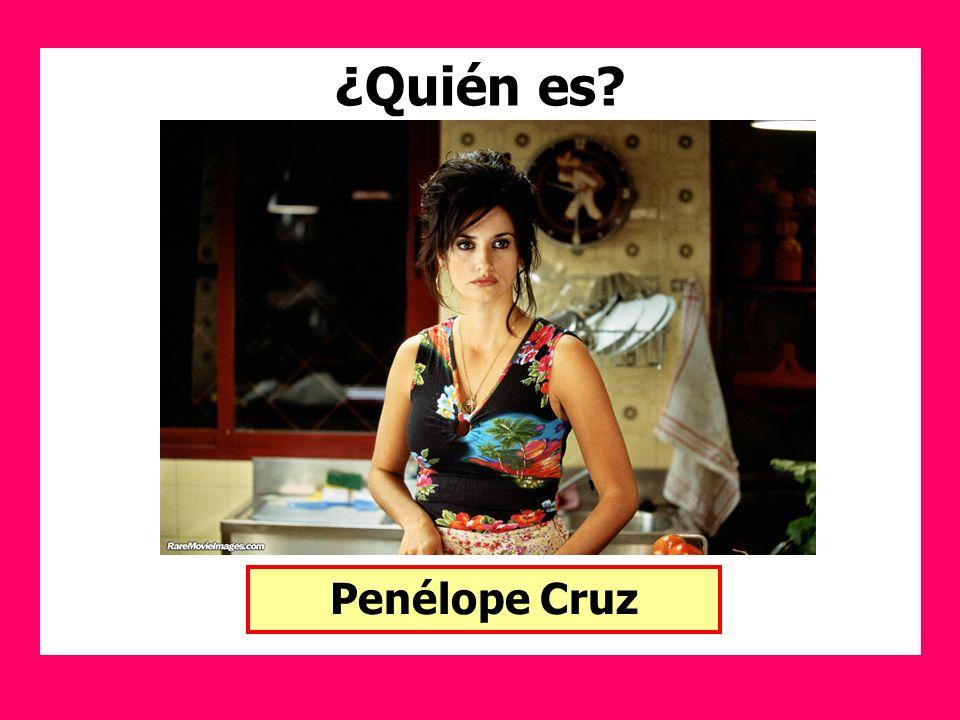 ¿Quién es Penélope Cruz