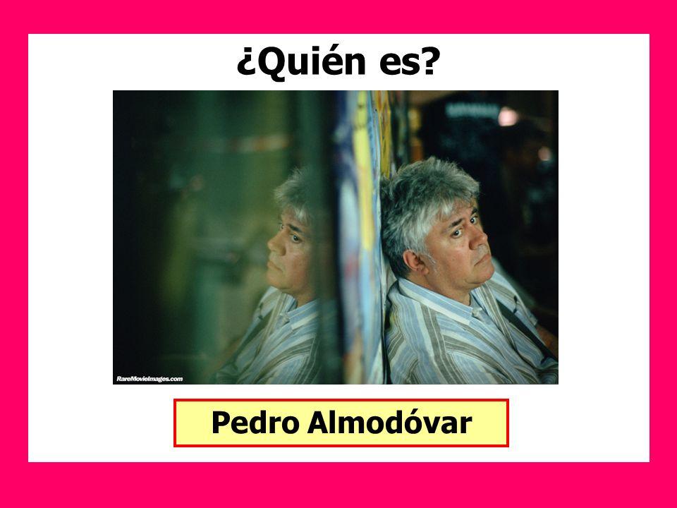 ¿Quién es Pedro Almodóvar