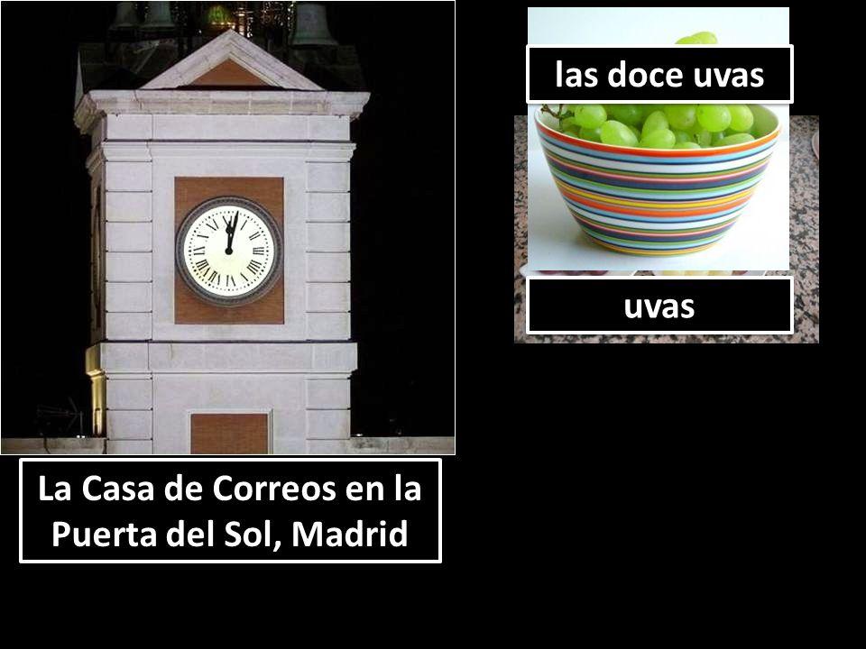 La Casa de Correos en la Puerta del Sol, Madrid