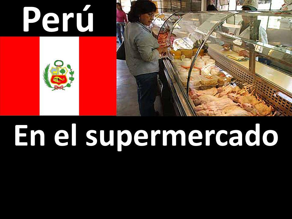 Perú En el supermercado