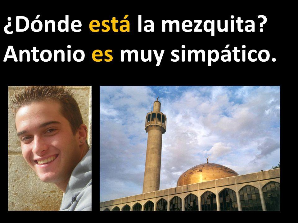 ¿Dónde está la mezquita