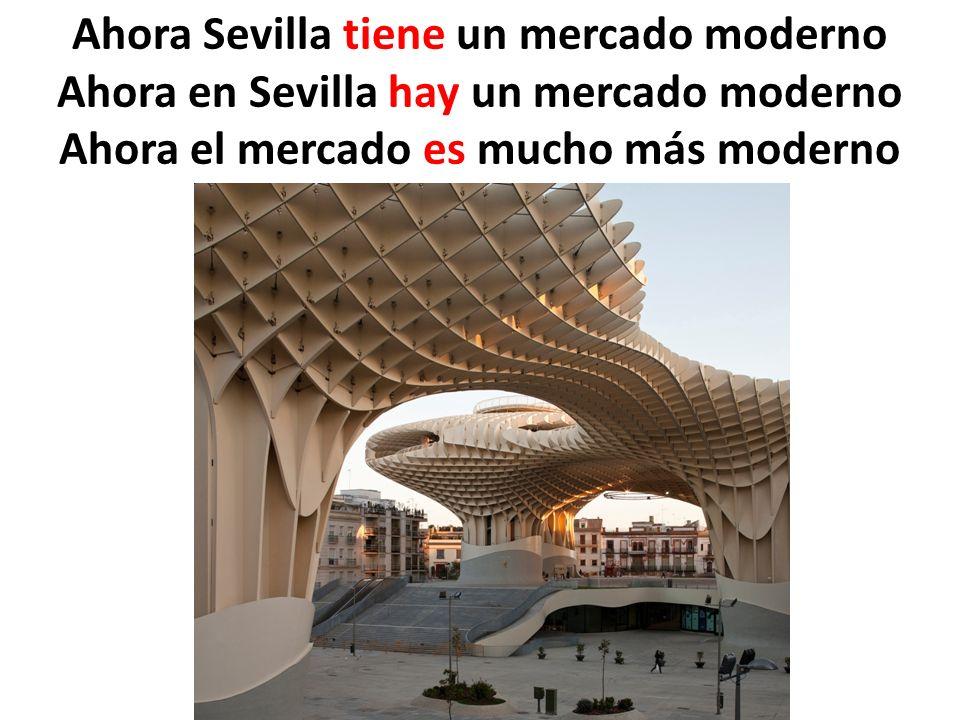 Ahora Sevilla tiene un mercado moderno