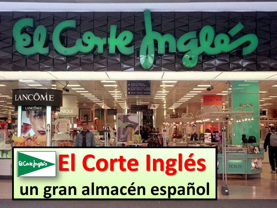 un gran almacén español