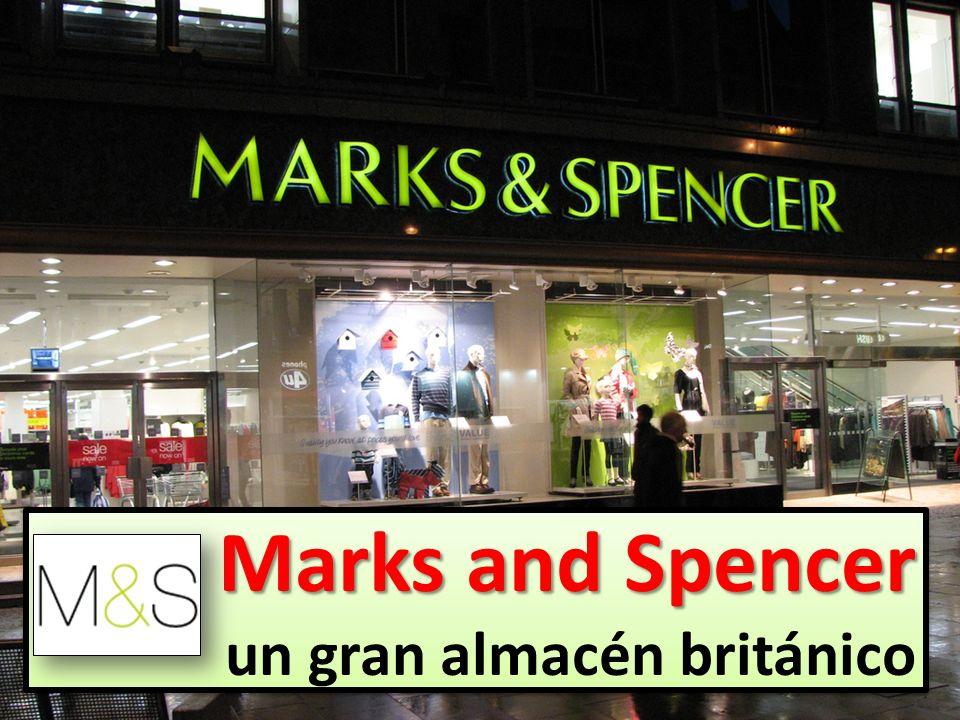 Marks and Spencer un gran almacén británico