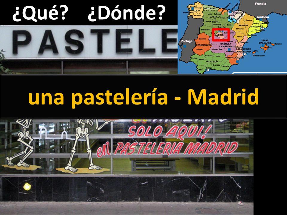 una pastelería - Madrid