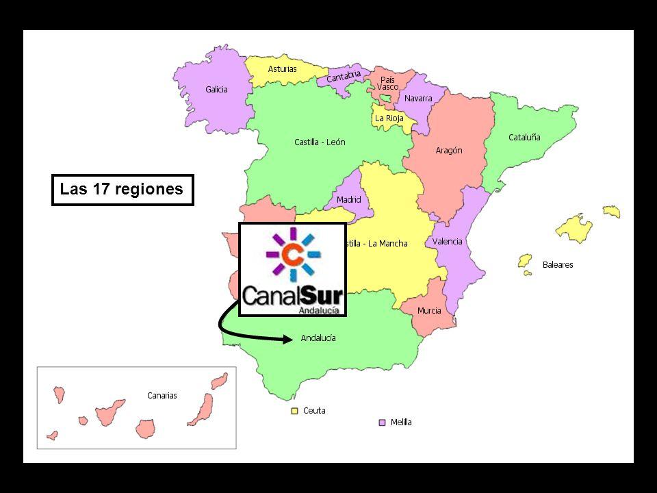 Las 17 regiones