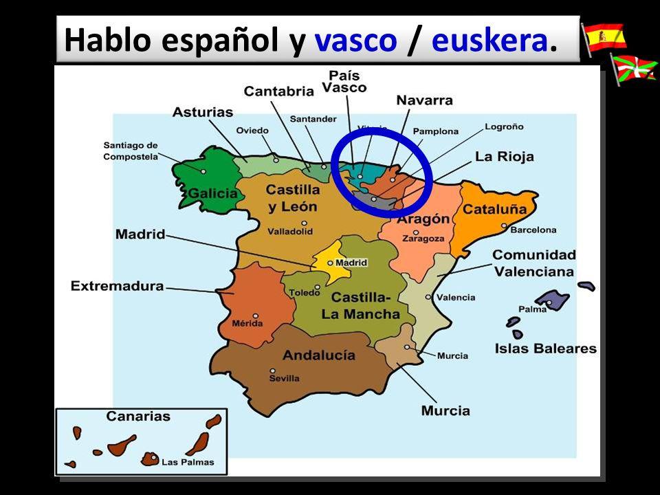 Hablo español y vasco / euskera.