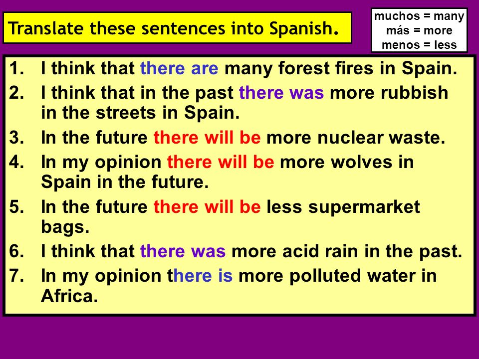 I think that there are many forest fires in Spain.