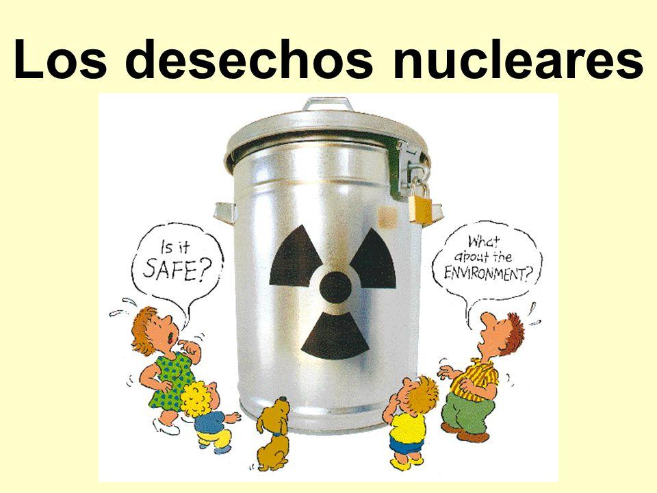 Los desechos nucleares