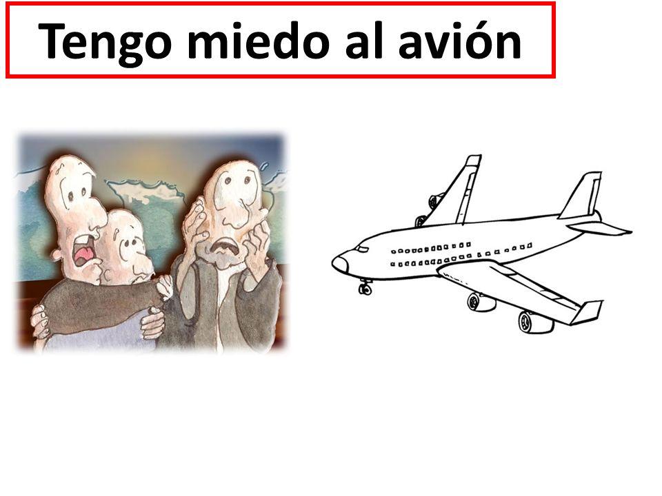 Tengo miedo al avión