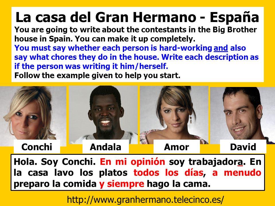 La casa del Gran Hermano - España