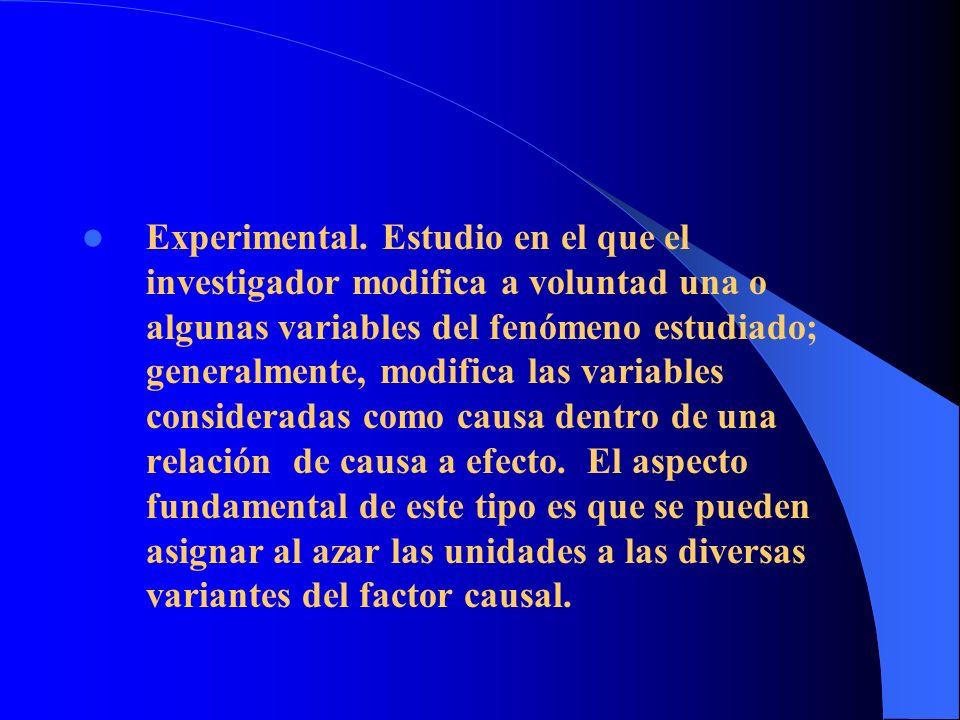 Experimental.
