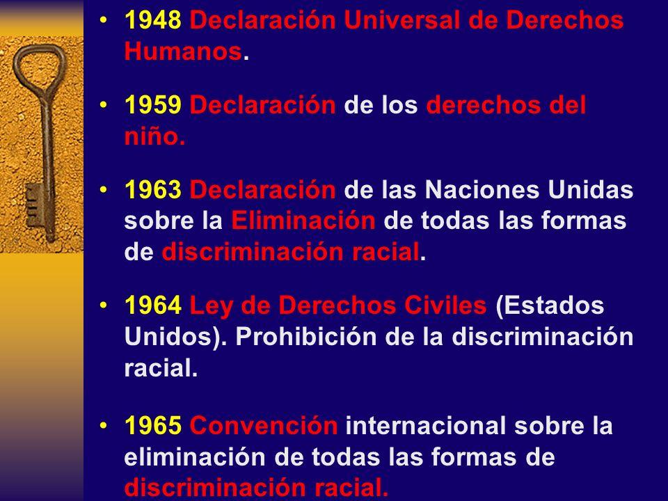 1948 Declaración Universal de Derechos Humanos.