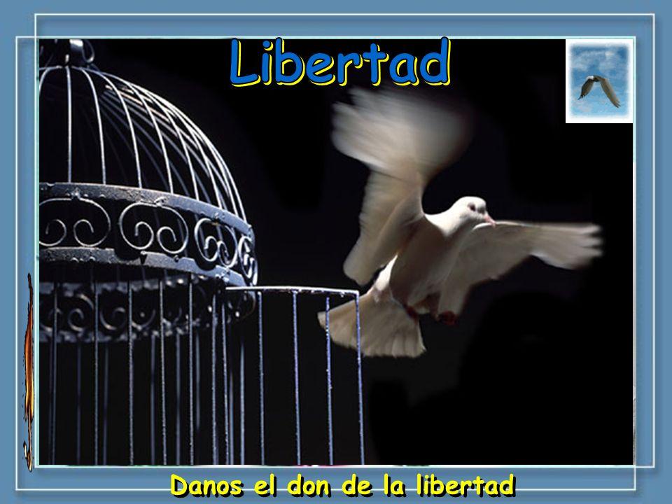 Danos el don de la libertad