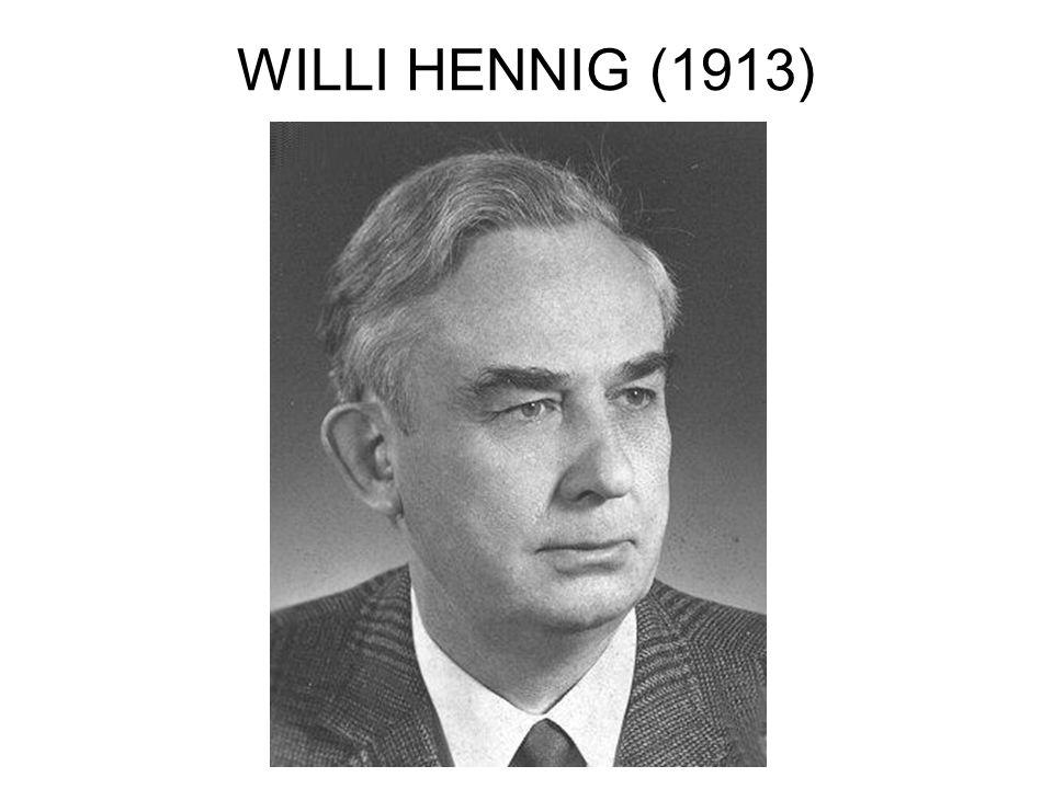 WILLI HENNIG (1913)