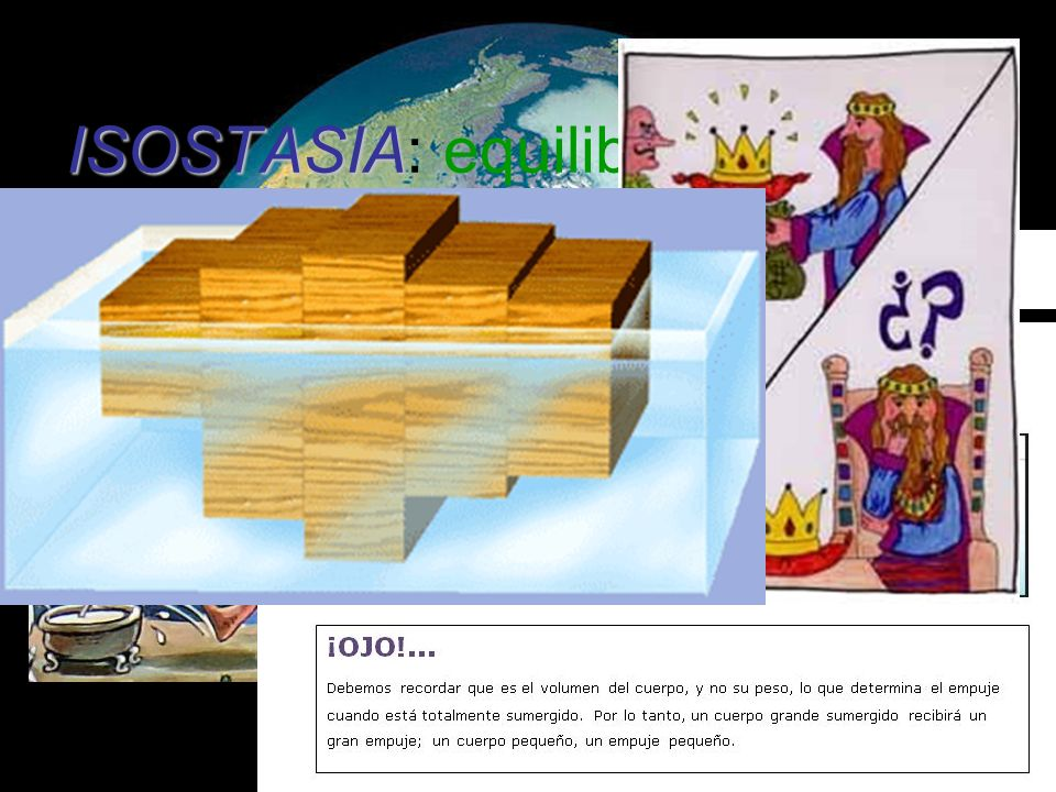 ISOSTASIA: equilibrio en griego