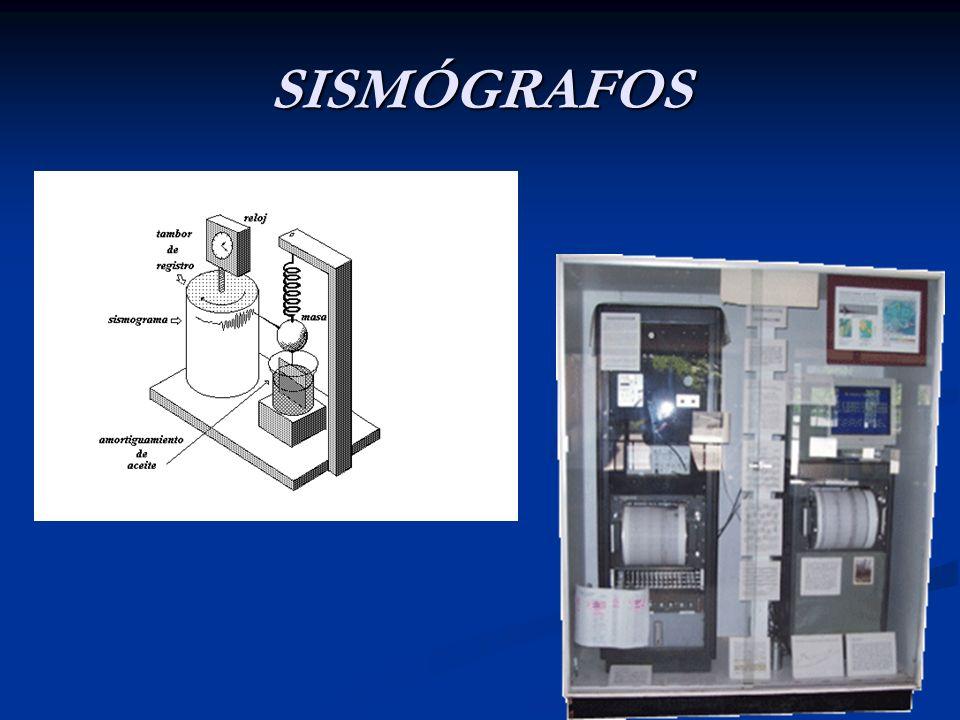 SISMÓGRAFOS