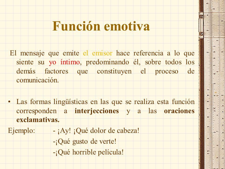 Función emotiva