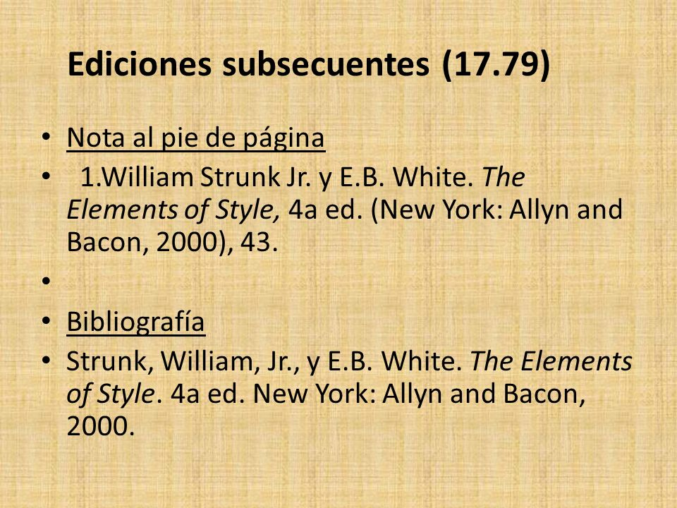 Ediciones subsecuentes (17.79)