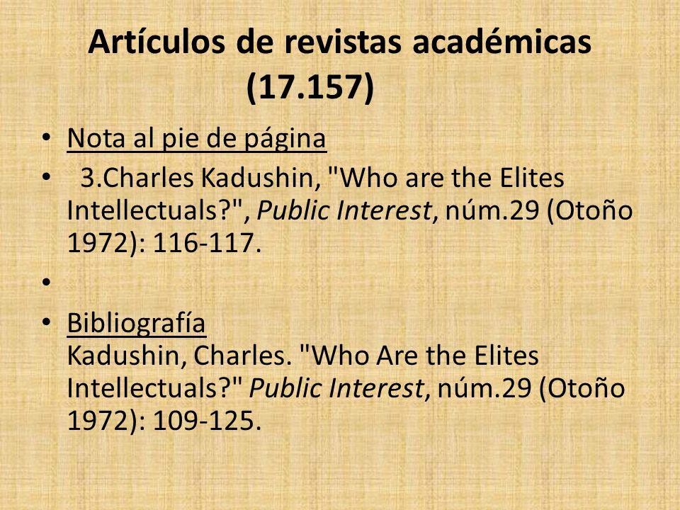Artículos de revistas académicas (17.157)