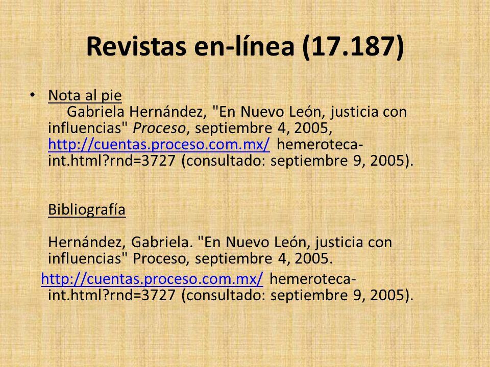 Revistas en-línea (17.187)