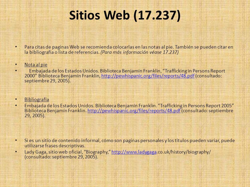 Sitios Web (17.237)