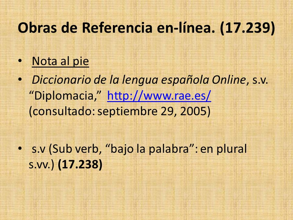 Obras de Referencia en-línea. (17.239)