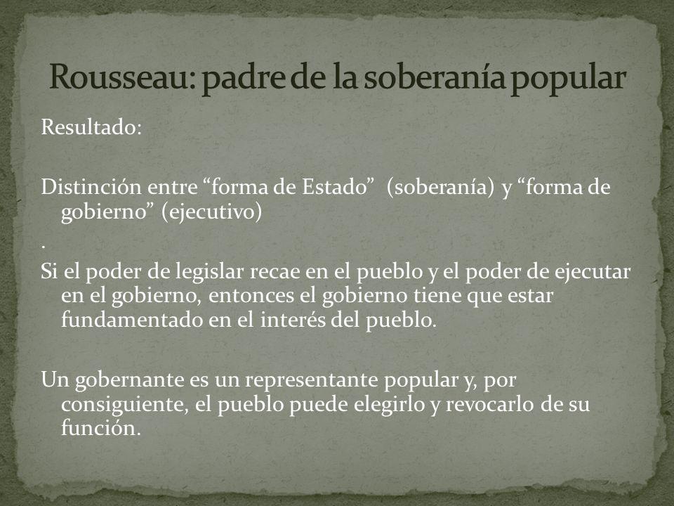 Rousseau: padre de la soberanía popular