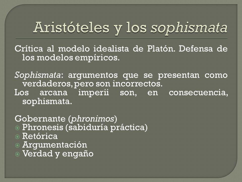 Aristóteles y los sophismata