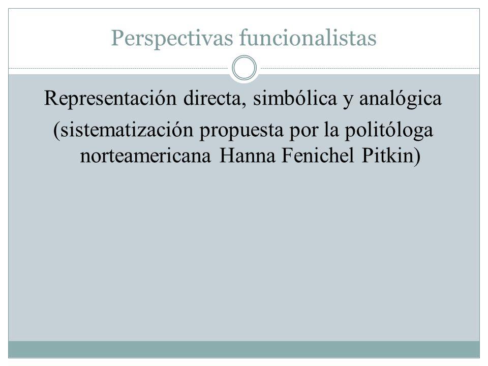 Perspectivas funcionalistas