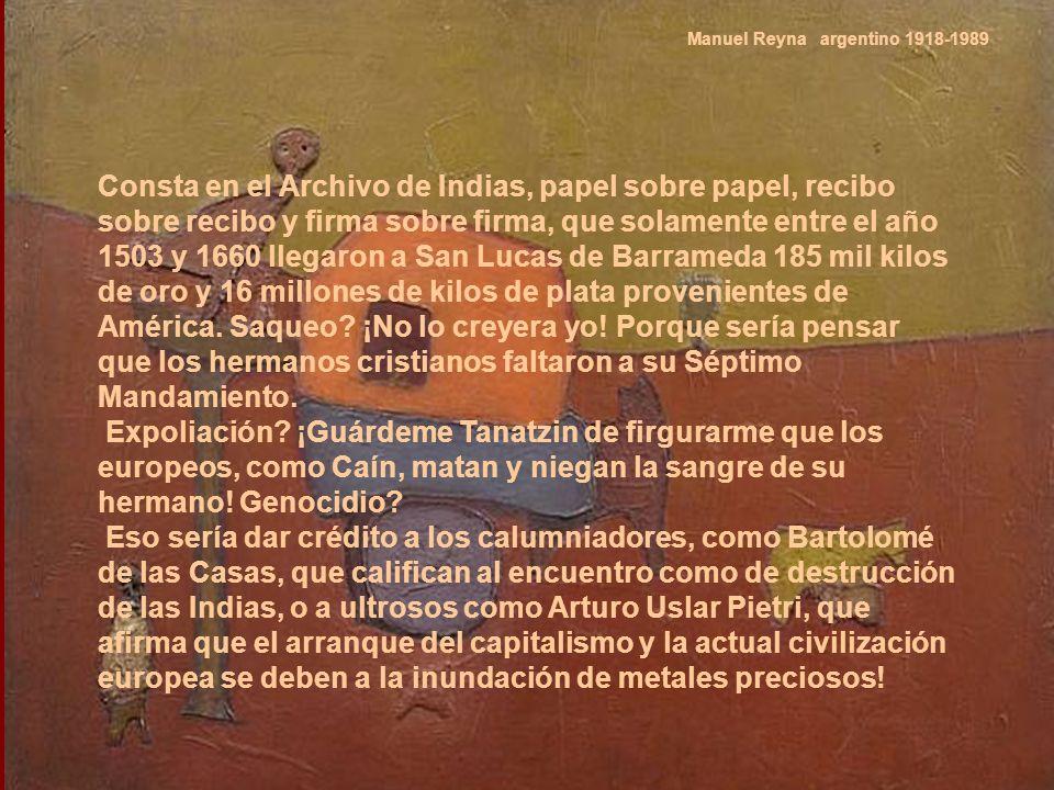 Manuel Reyna argentino 1918-1989