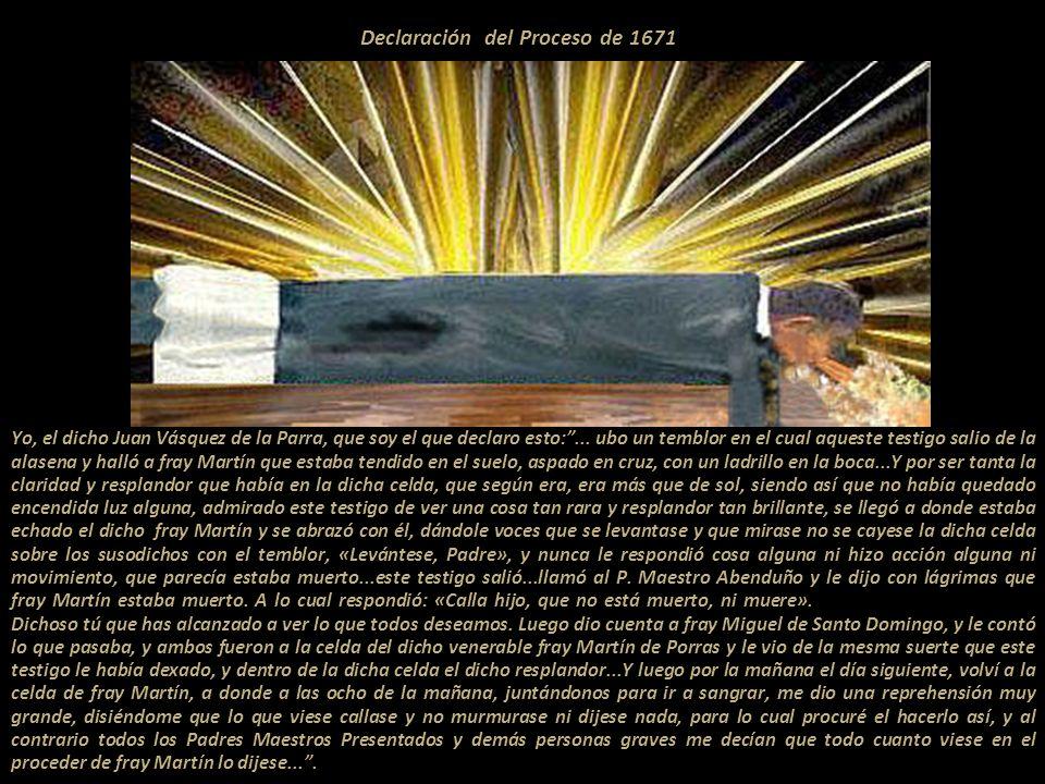 Declaración del Proceso de 1671