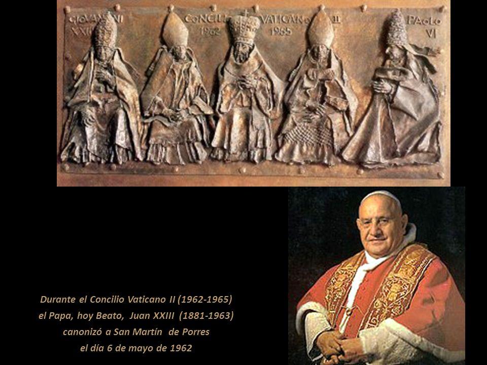 Durante el Concilio Vaticano II (1962-1965)
