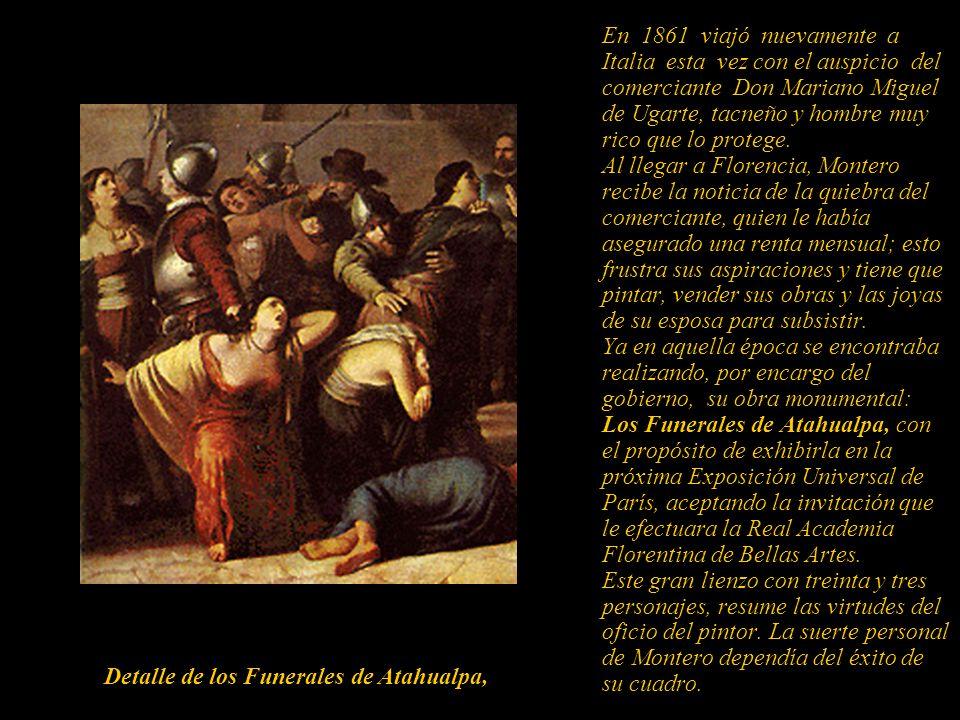 Detalle de los Funerales de Atahualpa,